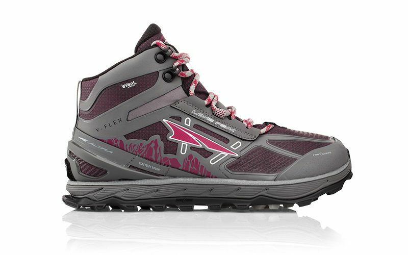 Altra Lone Peak 4 0 Mid Rsm Waterproof Womens Shoes Gray