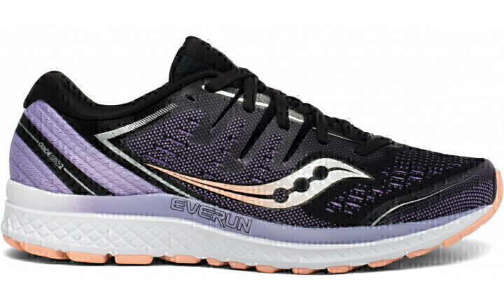 521ccaad6fe63 Saucony Guide ISO 2 Womens Shoes Black/Purple   Wildfire Sports ...
