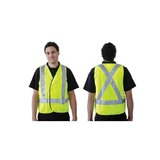 ABL Fluoro Reflective Safety Vests - Day/Night Use
