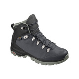 Salomon OUTback 500 GTX Womens Shoes Ebony/Black/Shadow