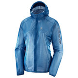 Salomon Lightning Race Waterproof Womens Jacket Poseidon