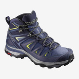 Salomon X Ultra 3 Wide Mid GTX Womens Shoes
