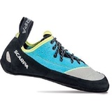 Scarpa Velocity Lace Womens Shoes Light Gray/Turquoise