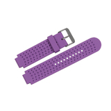 Wildfire Solid Colour Replacement Watch Band for Garmin Forerunner 220/230/235/620/630/735XT