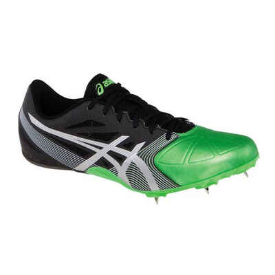 Asics Hyper Sprint 6 Unisex Shoes Onyx/Silver/Flash Green