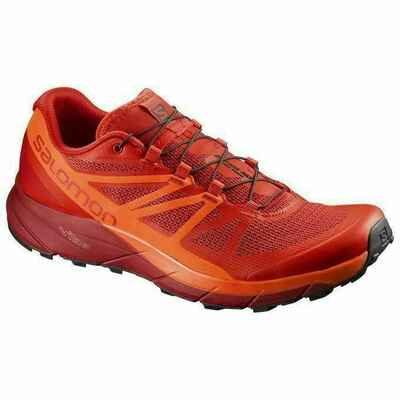 Salomon Sense Ride Mens Shoes Fiery Red/Scarlet Ibis/Red Dahlia