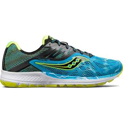 Saucony Ride 10 Mens Shoes Ocean Wave