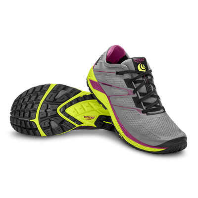 Topo Runventure 2 Womens Shoes Grey/Yellow